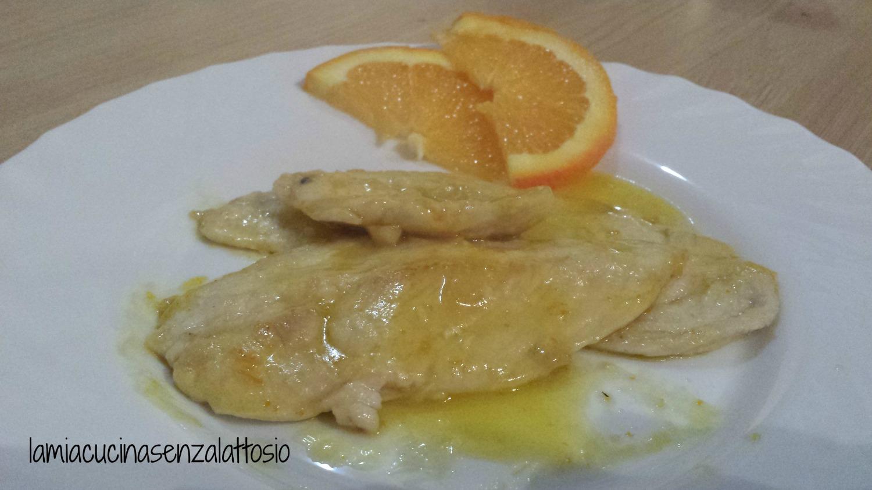 petto pollo arancia