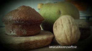 muffin noci mele