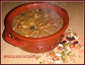 zuppa legumi no lattosio