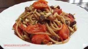spaghetti uvetta pinoli 4