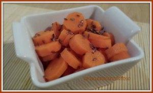 carote ai semi di lino