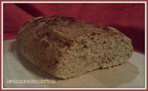 pane integrale senza lattosio