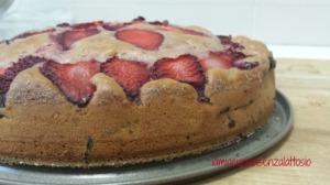 torta fragole senza lattosio