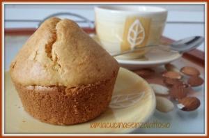 muffin senza uova lattosio