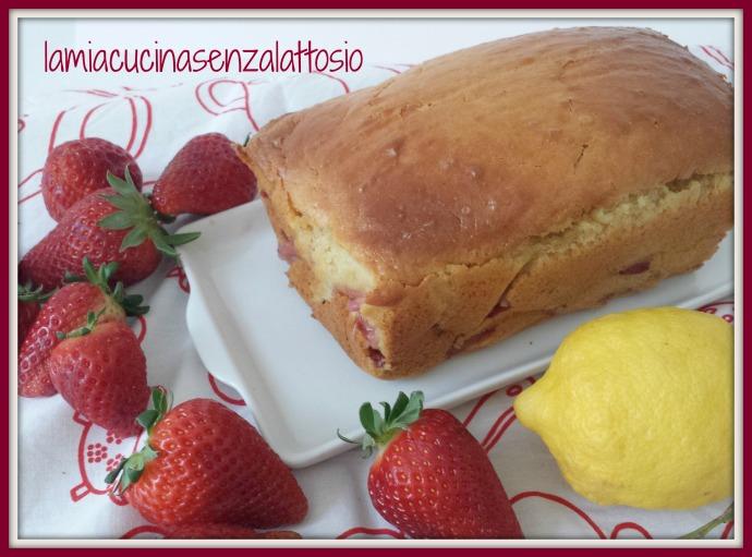 plumcake fragole senza lattosio