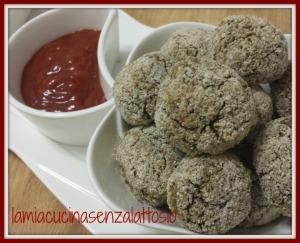 polpette quinoa lenticchie