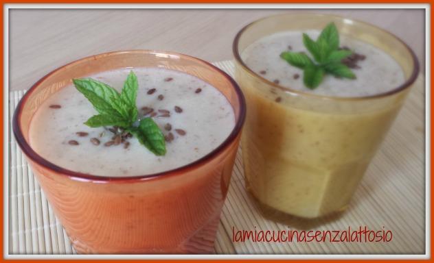 smoothie senza lattosio