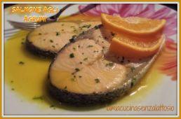 salmone agli agrumi