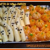 Banane fantasma e zucche di mandarino, ricette di Halloween