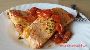 salmone pomodorini