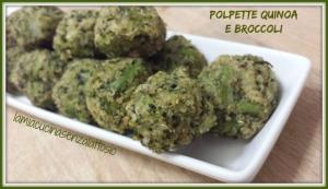 polpette quinoa e broccoli