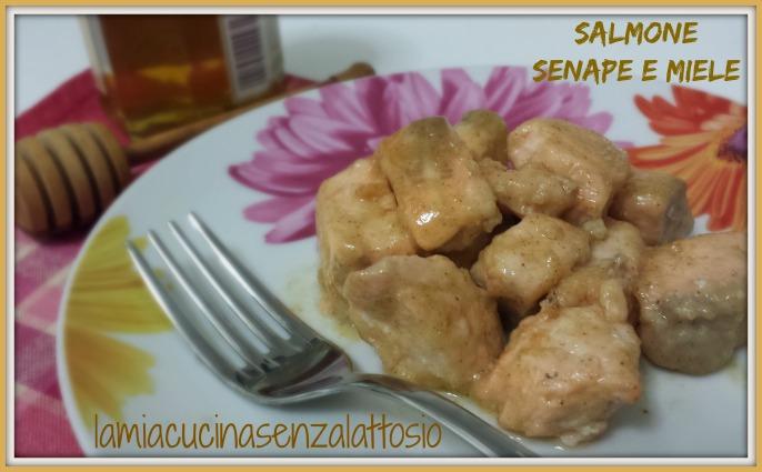 salmone miele e senape