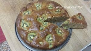 torta integrale kiwi