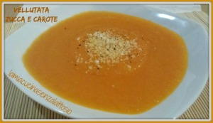 vellutata zucca e carote