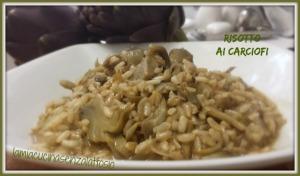 risotto carciofi