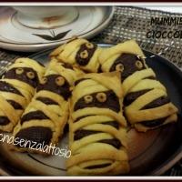 Mummie al cioccolato senza lattosio - ricette di Halloween