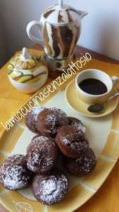 muffin al caffè vegani