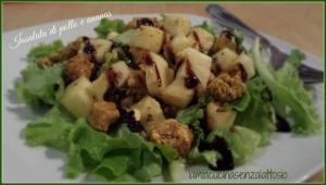 insalata pollo e ananas