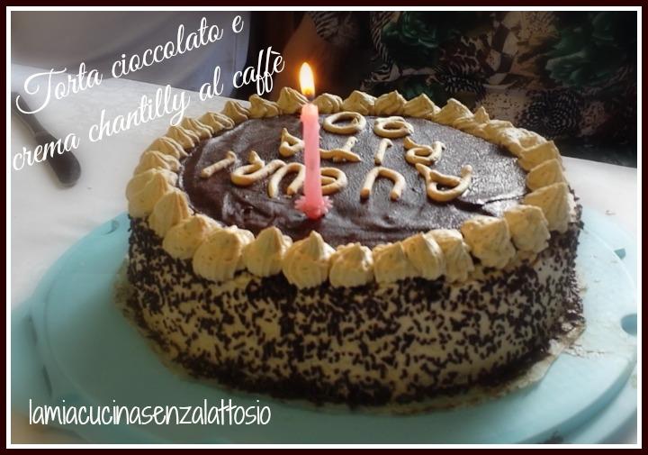 spesso Torta multistrato cioccolato e crema chantilly al caffè – senza  CA71
