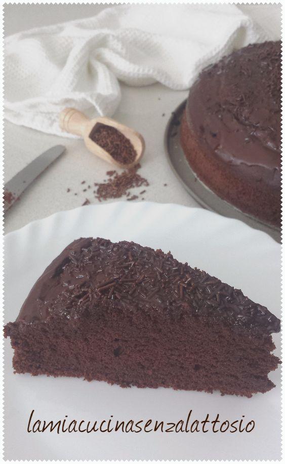torta cioccolato senza lattosio