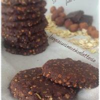 Biscotti Gran Cereale al cioccolato - fatti in casa - senza uova senza lattosio