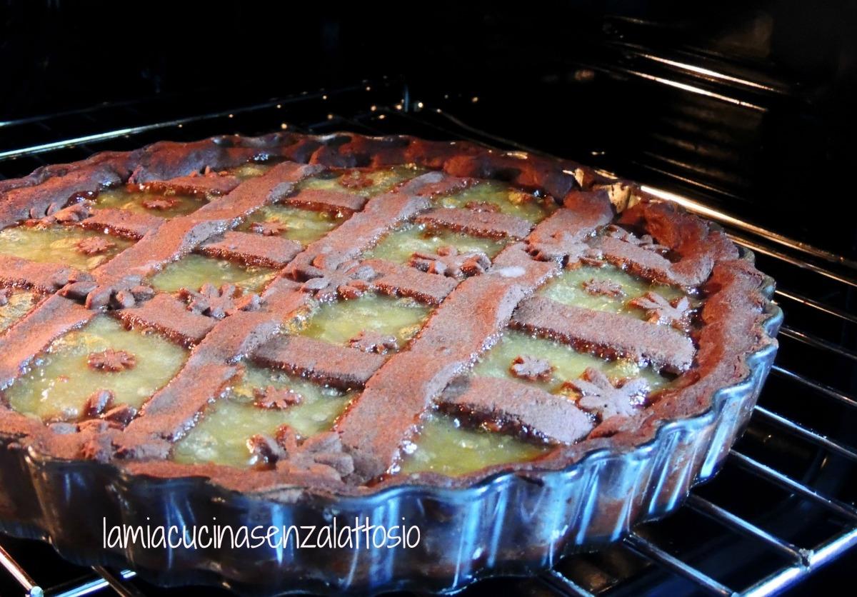 crostata cioccolato pere