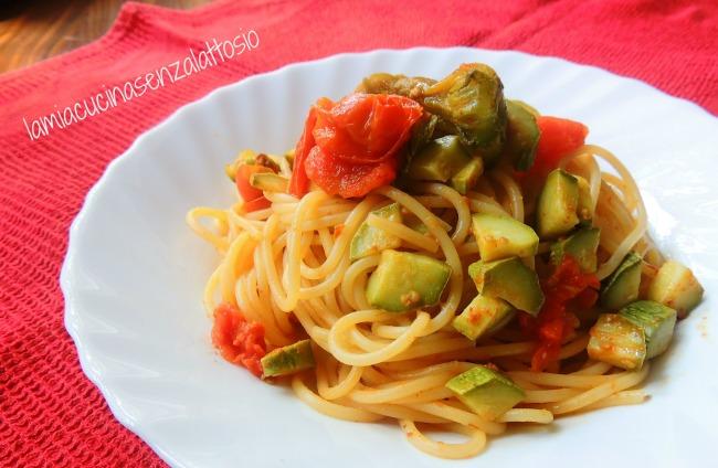 spaghetti zucchine e bottarga
