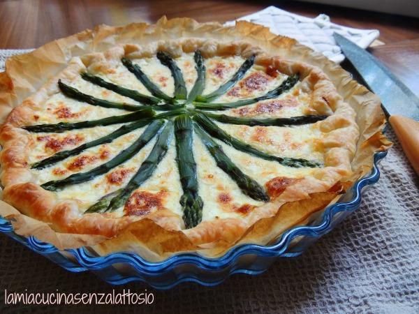 torta salata asparagi