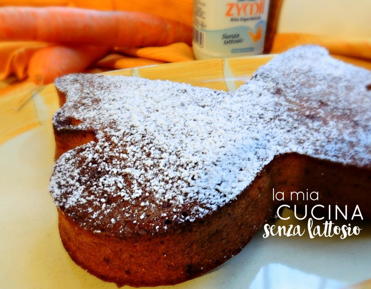 torta carote mandorle senza