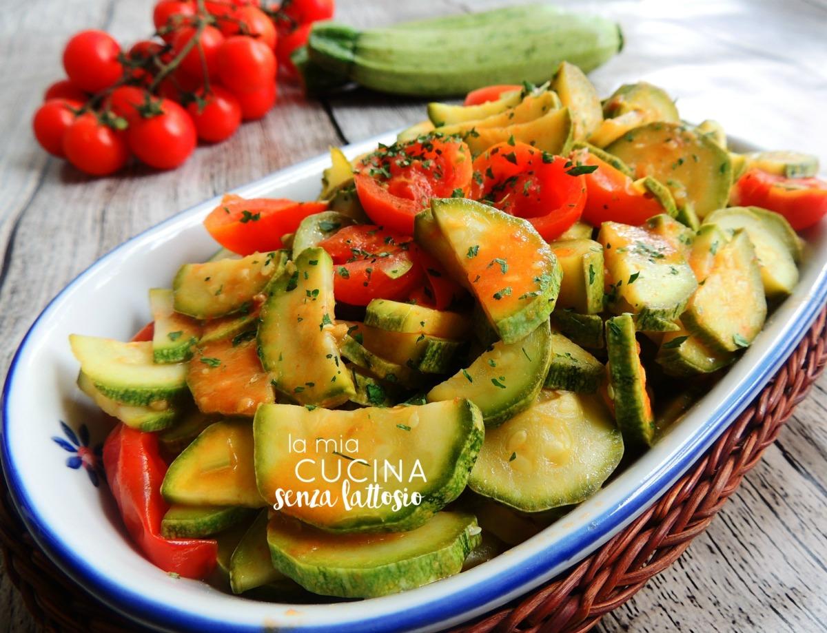 pomodori e zucchine