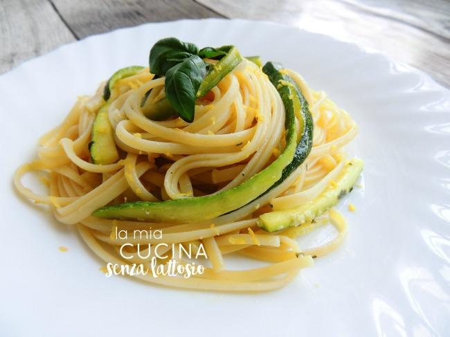linguine zucchine e limone