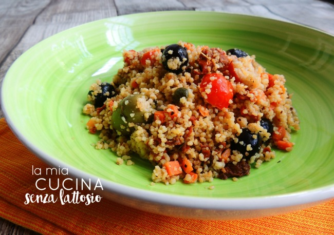cous cous pomodori ed olive