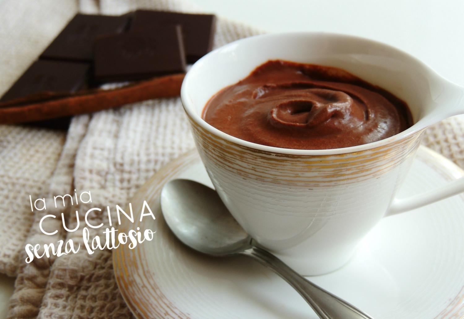 mousse cioccolato vegana