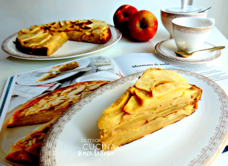 sformato di mele senza lattosio