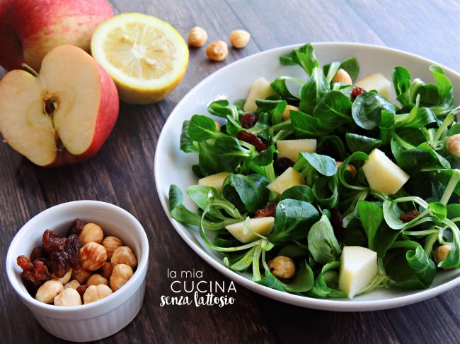 insalata-valeriana-noci-mele