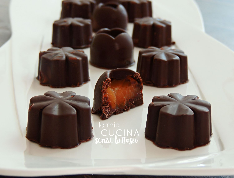 cioccolatini arancia senza lattosio