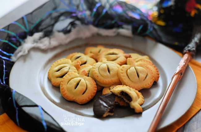 biscotti frolla halloween